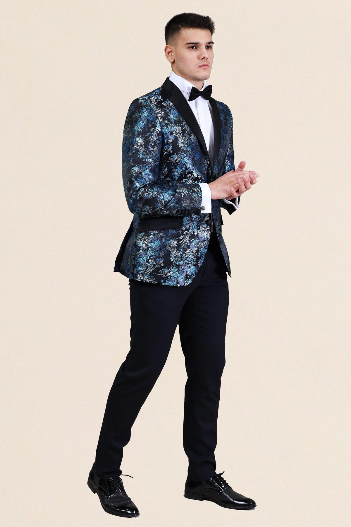 костюм за сватба в жакард 2021